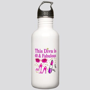 40TH PARTY GIRL Stainless Water Bottle 1.0L