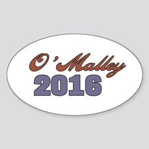 O'Malley 2016 Sticker (Oval)