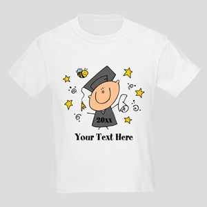 Cute Boy Graduate Kids Light T-Shirt