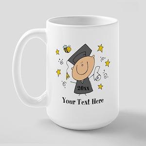 Cute Boy Graduate Large Mug