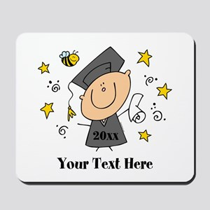 Cute Boy Graduate Mousepad