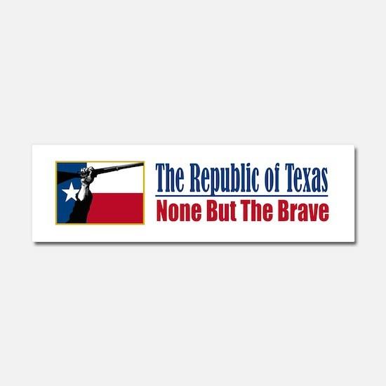 Republic of Texas (NBTB).png Car Magnet 10 x 3