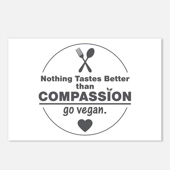 Vegan Nothing Tastes Bett Postcards (Package of 8)