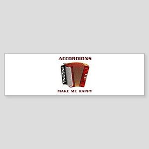 ACCORDIAN Bumper Sticker