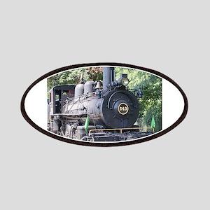 steam train close up shot Patch