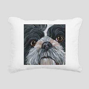 Shih Tzu Rectangular Canvas Pillow