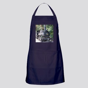 steam train close up shot Apron (dark)