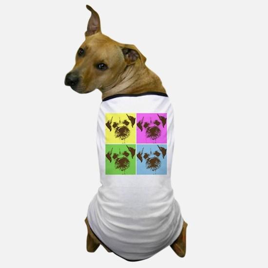 Neon Border Terrier Dog T-Shirt