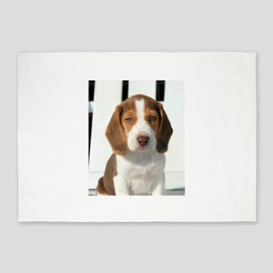 Baby Beagle 5'x7'Area Rug