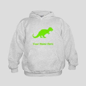 Tyrannosaurus Rex Silhouette (Green) Hoodie