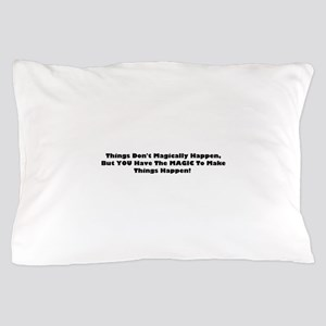 magic blk Pillow Case
