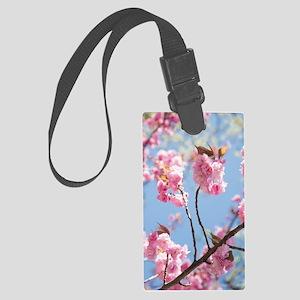 Elevating blooms Large Luggage Tag