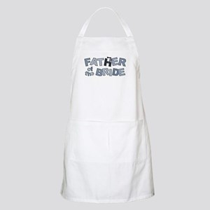 BP Letters Father of Bride BBQ Apron