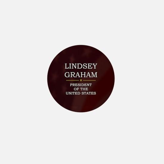 Lindsey Graham for President V3 Mini Button