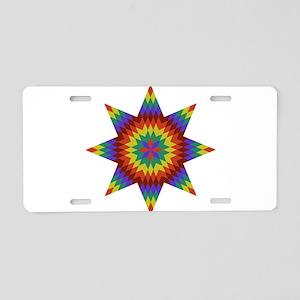 Native Stars Aluminum License Plate