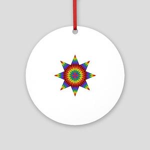 Native Stars Ornament (Round)
