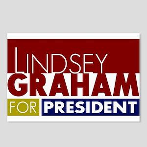 LIndsey Graham for Presid Postcards (Package of 8)