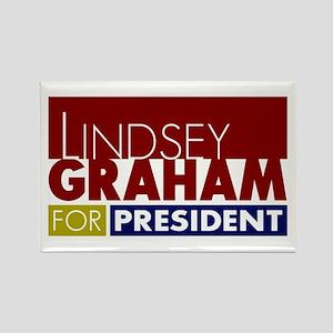 LIndsey Graham for President V1 Rectangle Magnet