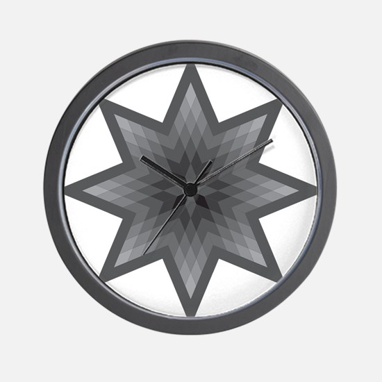 Native Stars Wall Clock