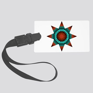 Native Stars Large Luggage Tag