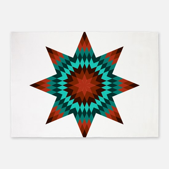 Native Stars 5'x7'Area Rug