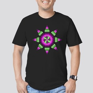 Native Stars Men's Fitted T-Shirt (dark)