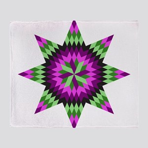 Native Stars Throw Blanket