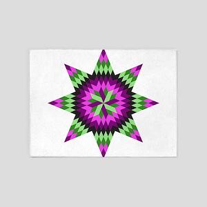 Native Stars 5'x7'Area Rug