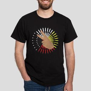 native hand Dark T-Shirt