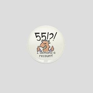 Recount 55th Birthday Mini Button