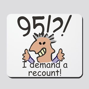 Recount 95th Birthday Mousepad