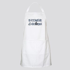BP Letters Father of Groom BBQ Apron