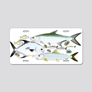 Atlantic Flats Big 3 Aluminum License Plate
