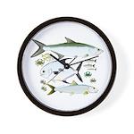 Atlantic Flats Big 3 Wall Clock