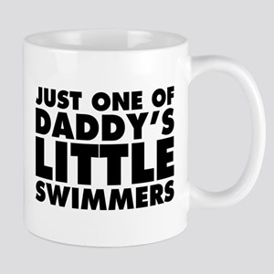 Daddy's Little Swimmers Mug