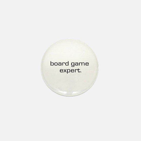 Board Game Expert Mini Button