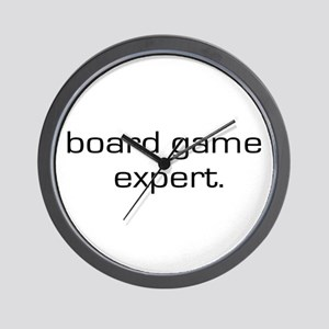 Board Game Expert Wall Clock