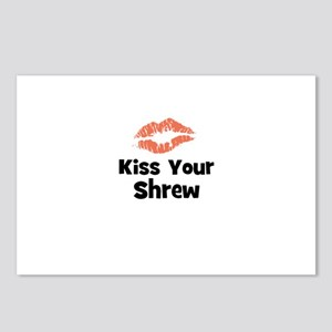 Kiss Your Shrew Postcards (Package of 8)