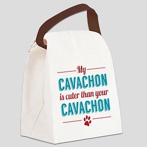 Cuter Cavachon Canvas Lunch Bag