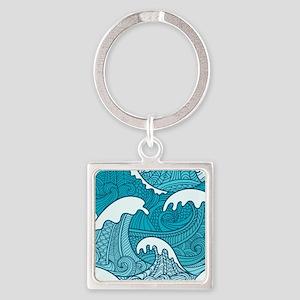 Ocean Waves Keychains