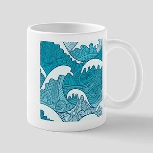 Ocean Waves Mugs