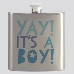 It's a Boy Flask