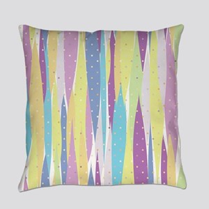 Pastel Stripes Everyday Pillow