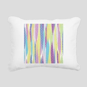 Pastel Stripes Rectangular Canvas Pillow