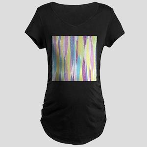 Pastel Stripes Maternity T-Shirt