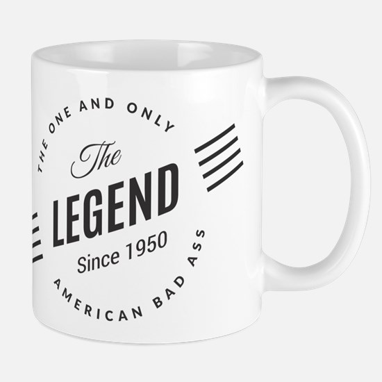 Birthday Born 1950 The Legend Mug