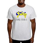 """""""Hey, Taxi!"""" Light T-Shirt"""