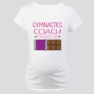 Gymnastics Coach Maternity T-Shirt