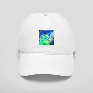 Abstract Blue Swirl Hats - CafePress 4b4befbbc124