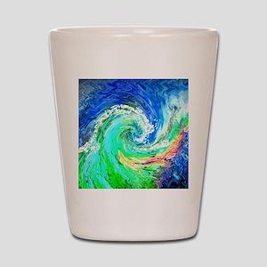 Waves Shot Glass